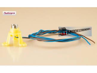 Plastic Lamp Socket met Schroeffitting - 58791 - Modeltreinshop