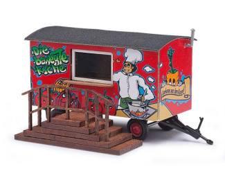Busch H059935 Keukenwagen aanhanger - Modeltreinshop