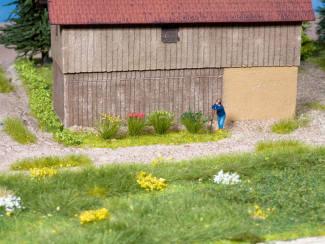 """Noch 07133 Plukje gras """"veldplanten"""" 105 stuks 6 mm - Modeltreinshop"""