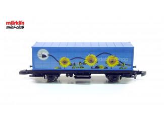 Marklin Z 81510 - 8615 Containerwagen Solar - Modeltreinshop