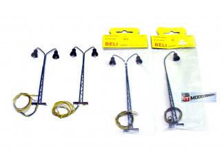 Beli H0 Vakwerk Lampen set - Modeltreinshop