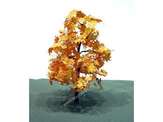 Boom 001 Geel Oranje Herfst bladeren - Modeltreinshop