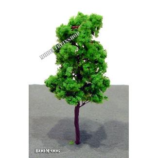Boom 006 - klein slank midden groen - Modeltreinshop