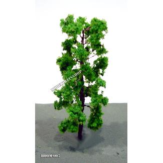 Boom 007 - klein slank midden groen 8 cm - Modeltreinshop