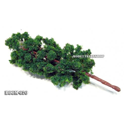 Boom 020 - Hoog slank donker groen - Modeltreinshop