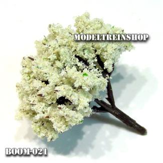 Boom 021 - Wit bol 4 cm - Modeltreinshop