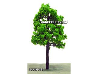 Boom 027 - Middengroen Forse boom 13 cm - Modeltreinshop
