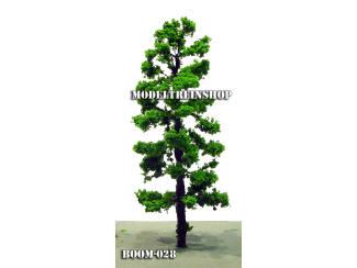 Boom 028 - Middengroen Hoge slanke boom - Modeltreinshop
