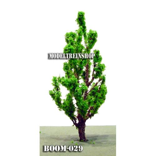 Boom 029 - Middengroen slanke boom 8,5 cm - Modeltreinshop