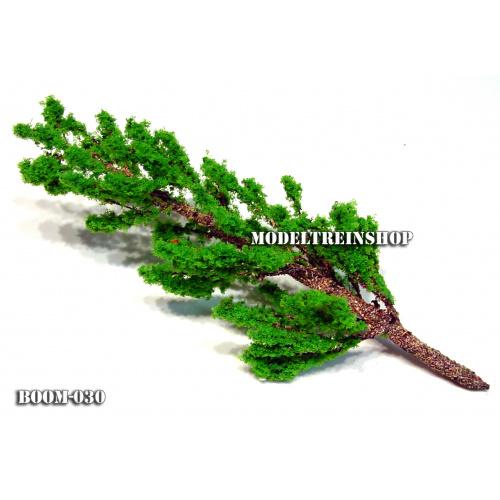 Boom 030 - Middengroen slanke boom 11 cm - Modeltreinshop
