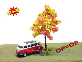 Boom 038A - Rose geel groene per 10 stuks - Modeltreinshop