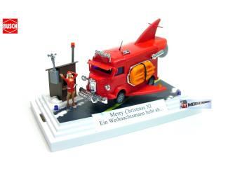 7623 Merry Christmas XI Ein Weihnachtsmann hebt ab..... - Modeltreinshop