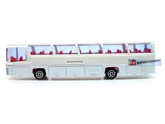 H0 Bus - Majorette Neoplan 373 Blanco Bus - Modeltreinshop