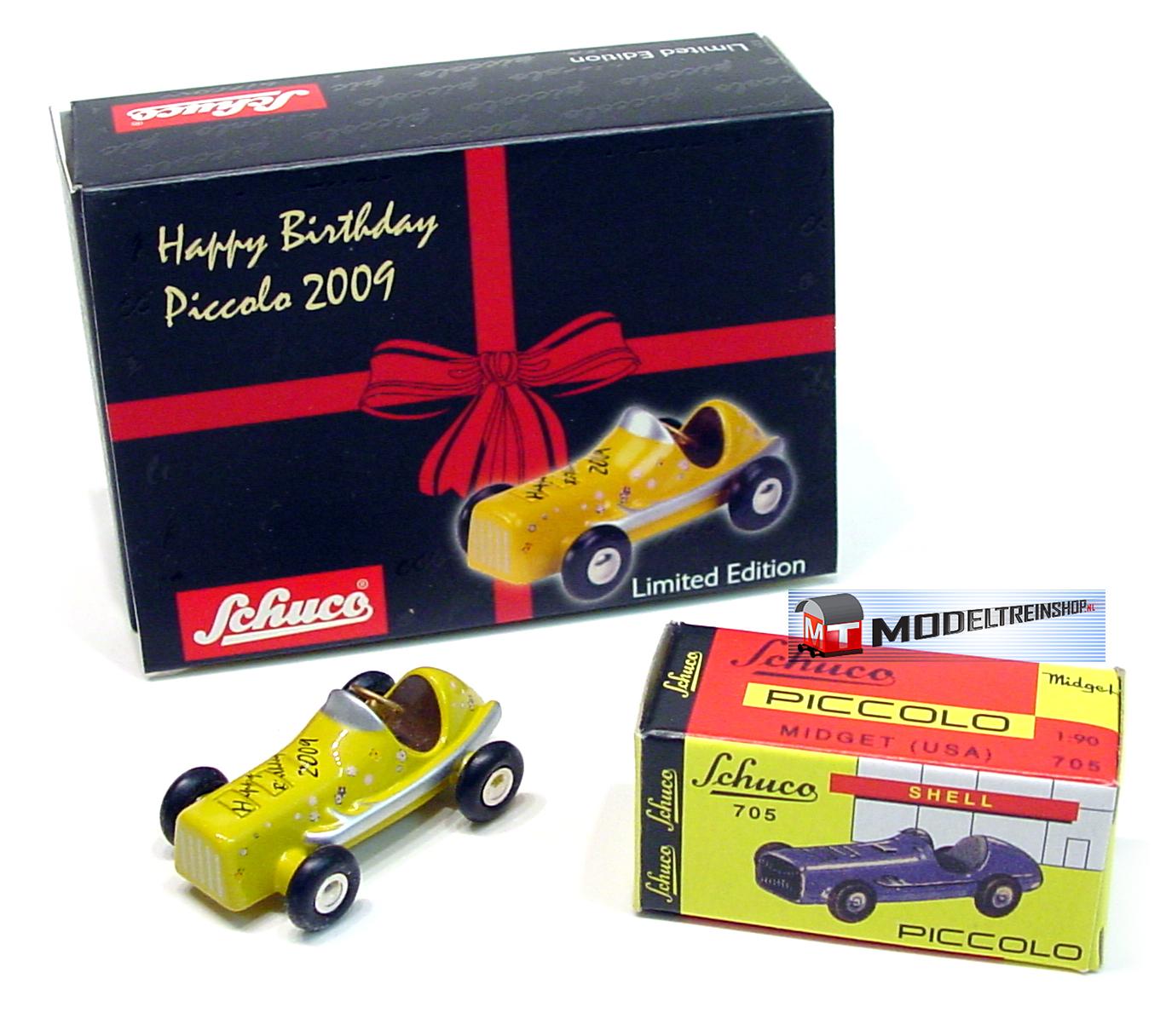 Schuco Piccolo Midget racewagen - Happy Birhday 2009 - Modeltreinshop