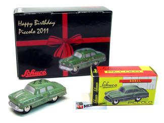 Schuco Piccolo Opel Olympia - Happy Birhday 2011 - Modeltreinshop