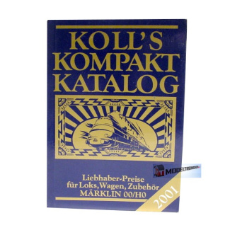 Koll's Kompakt Katalog 2001 Marklin 00/H0 - Modeltreinshop