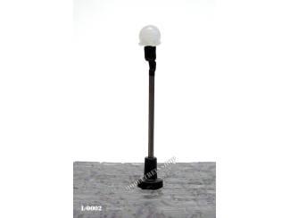 L-0002 H0 - N - Lantaarnpaal 6V - Modeltreinshop