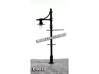 L-0046 H0 - N - Lantaarnpaal 12V - Modeltreinshop