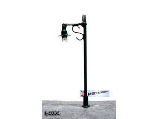 L-0064 H0 - N - Lantaarnpaal 12V - Donker Groen - Modeltreinshop