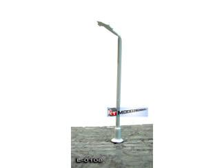 L-0108 N - Z - LED Lantaarnpaal 3V Wit - Modeltreinshop
