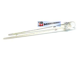 L-1501 - Led 3mm Wit 3v - Modeltreinshop