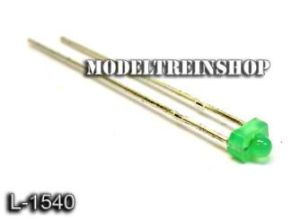 L-1540 - Led 1,8mm Groen 3v - Modeltreinshop
