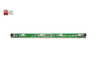 L-1594 H0 - Led Strip 12cm 3volt - Led Kleur Warm Wit - Modeltreinshop