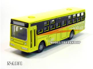 N Auto Bus Geel - Metaal - Modeltreinshop