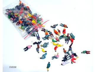 N P-110 Zittende Figuren 100 stuks - Modeltreinshop