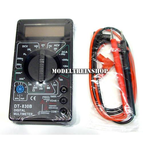 Digital Multimeter DT-830B - Modeltreinshop