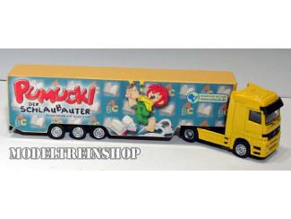 H0 Vrachtwagen - Pumucki der Schlaubauter - Modeltreinshop