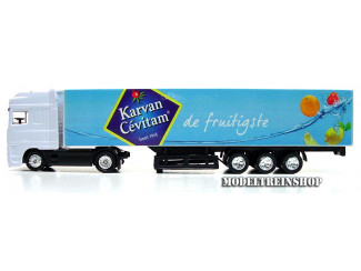 H0 Vrachtwagen - Karvan Cevitam de fruitigste - Modeltreinshop