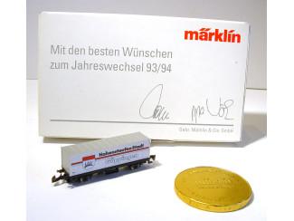 Marklin Z Mit den besten Wünschen zum Jahreswechsel 93/94 - Modeltreinshop
