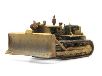 Artitec H0 10.355 Bulldozer D7 civiel bouwpakket uit resin, ongeverfd - Modeltreinshop