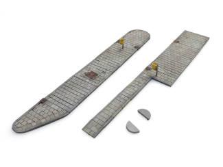 Artitec H0 10.379 Buseilanden set (modulair) bouwpakket uit resin, ongeverfd - Modeltreinshop