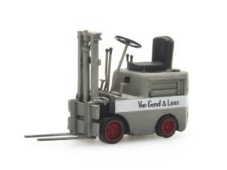 Artitec N 316.049 Heftruck van Gend & Loos grijs kant en klaar resin, geverfd - Modeltreinshop