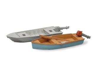 Artitec H0 387.10 Sportvissersboten modern (2x) kant en klaar resin, geverfd - Modeltreinshop