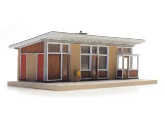 Artitec H0 10.387 Station Velsen Zeeweg bouwpakket - Modeltreinshop