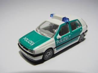 Wiking H0 10401 WV Golf Polizei - Modeltreinshop