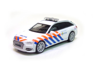 Herpa H0 941938 Audi A6 Avant Politie Nederland - Modeltreinshop