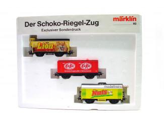 Marklin H0 Wagenset Der Schoko-Riegel Zug Lion - KitKat - Nuts - Modeltreinshop
