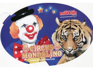 Sticker Marklin - ST022 Circus Mondolino - Modeltreinshop