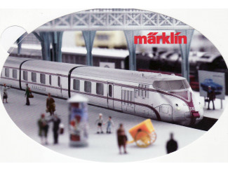 Sticker Marklin - ST025 - Modeltreinshop