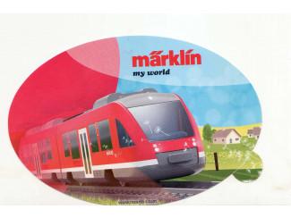Sticker Marklin - ST045 My World - Modeltreinshop