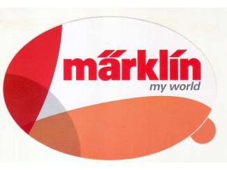 Sticker Marklin - ST051 My World - Modeltreinshop