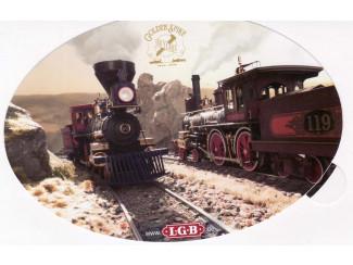 Sticker LGB - ST055 - Modeltreinshop