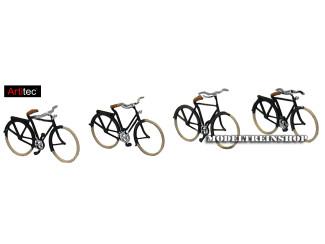 Artitec N 14.155 Duitse fietsen 1920-1960, 1:160, bouwpakket geëtst, ongeverfd - Modeltreinshop
