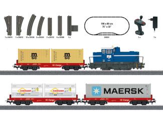Marklin H0 29453 Startset Container Trein Digitaal met Geluid - Modeltreinshop