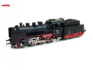Marklin H0 3003 V4 Stoom Locomotief BR 24 met Tender - Modeltreinshop