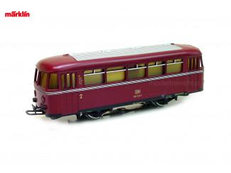 Marklin H0 4018 V11 Railbus Bijwagen BR 995 - Modeltrienshop